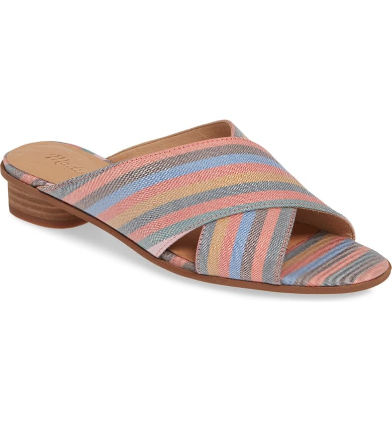Madewell The Ruthie Crisscross Sandals