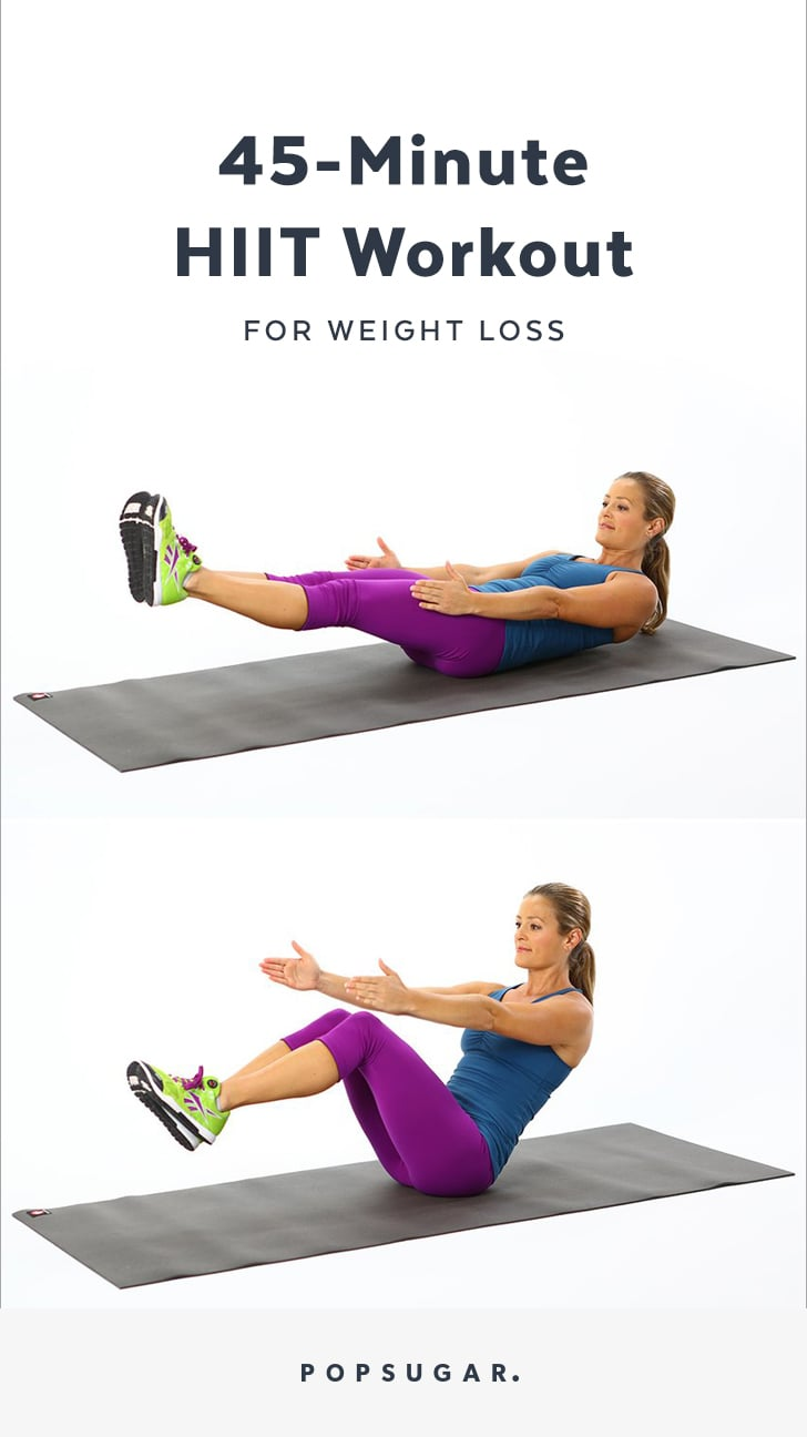 Hiit Workout For Weight Loss Popsugar Fitness
