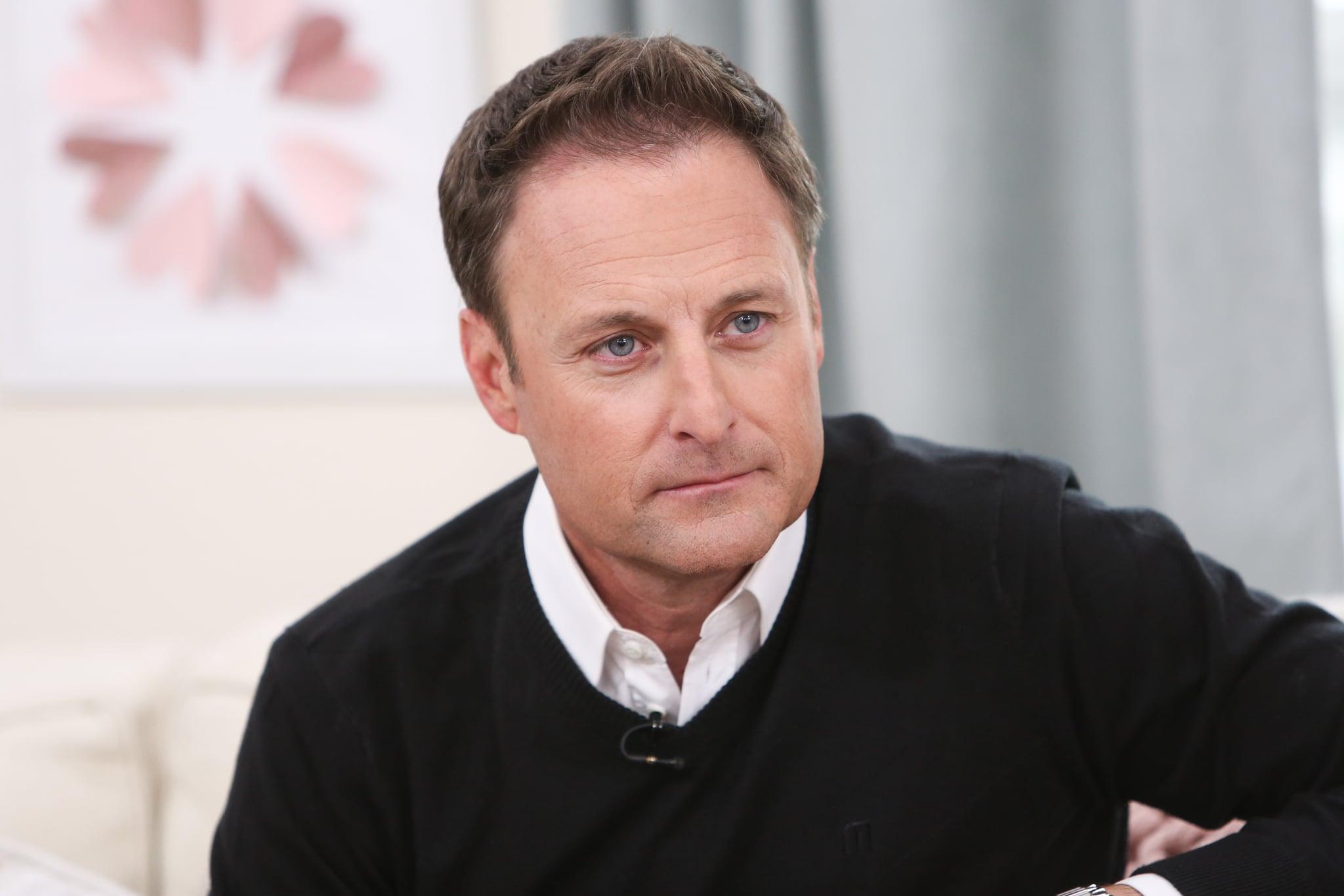 UNIVERSAL CITY, CALIFORNIA - FEBRUARY 13: TV Personality Chris Harrison visits Hallmark's
