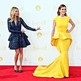 Julia Roberts let Kate Walsh shine on the Emmys red carpet.
