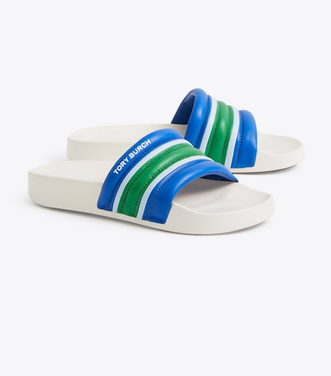 Tory Burch Striped Slide