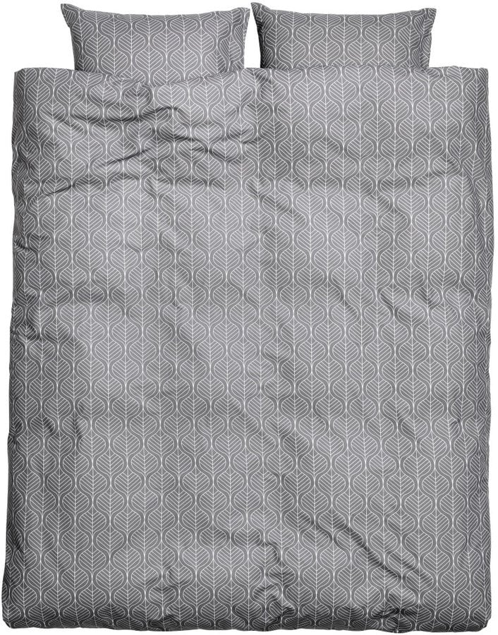 Hm Kingqueen Duvet Cover Set Gray 4999 Gray Bedroom Ideas
