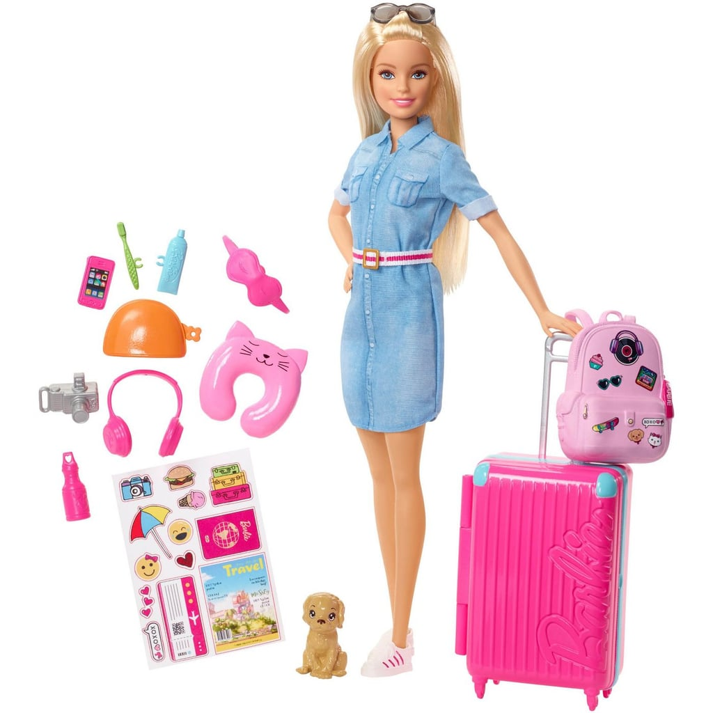 Travel Barbies and Accessories