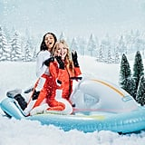 Funboy's Inflatable Snowmobile Sled