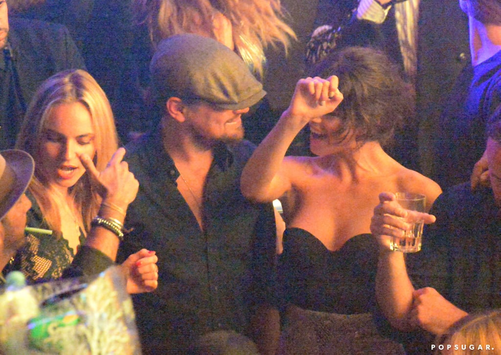 Leonardo DiCaprio and Tobey Maguire at Club May 2016