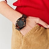 Nixon Time Teller Acetate Tortoiseshell Watch