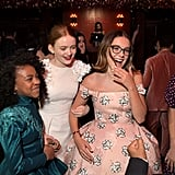 Millie Met Up With Costars Priah Ferguson and Sadie Sink at the Afterparty