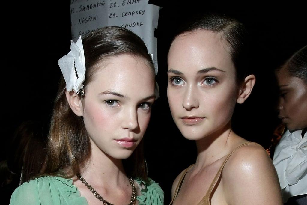 Photos of Makeup Backstage at Kate Sylvester SS 2010-11 at RAFW 2010