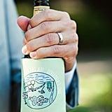 Camp Map Beer Koozies