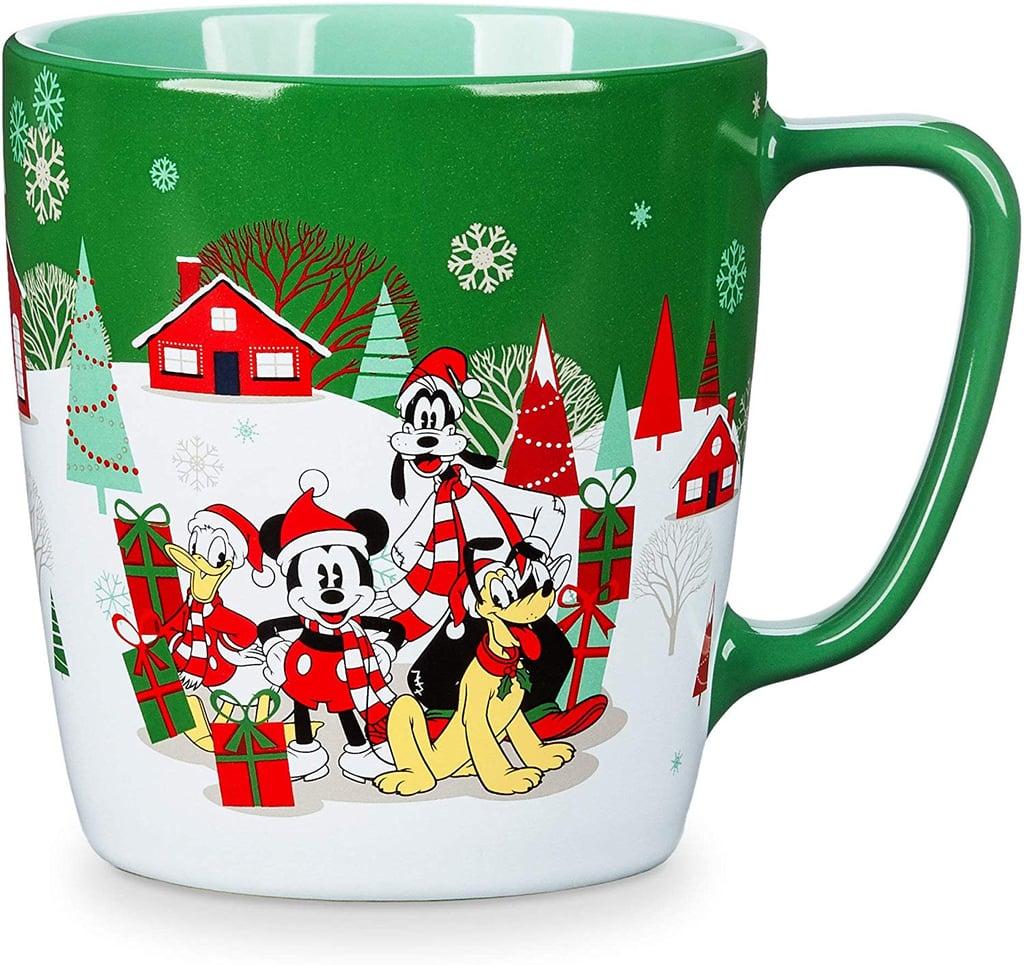 Disney Mickey Mouse and Friends Holiday Mug