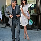 In October, George and Amal had a glamorous and sweet outing in LA.