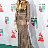 Jennifer Lopez at the 11th Annual Latin Grammys in 2010