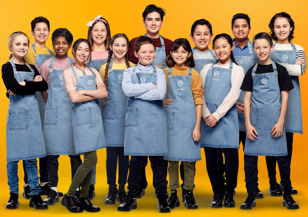 Junior MasterChef 2020 Cast