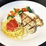 Grilled Chicken With Spaghetti at Golden Vine Winery