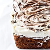 Carrot Cake Bread With Nutella Cream Cheese Frosting
