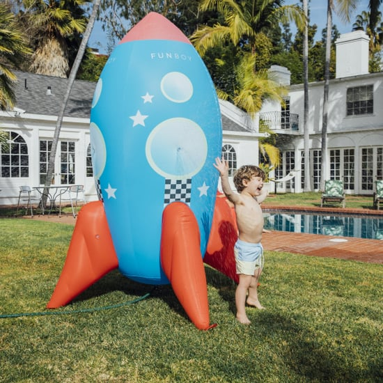 Funboy's Giant Rocket Ship Sprinkler For the Backyard