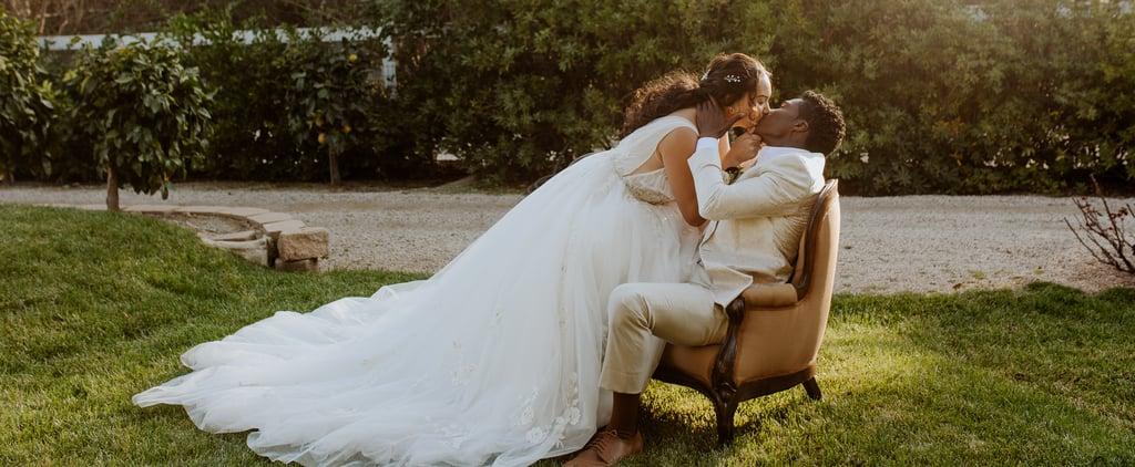 See Photos From This Bridgerton-Inspired Wedding Shoot