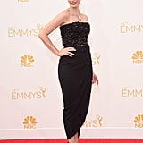 Jessica Paré at the 2014 Emmy Awards