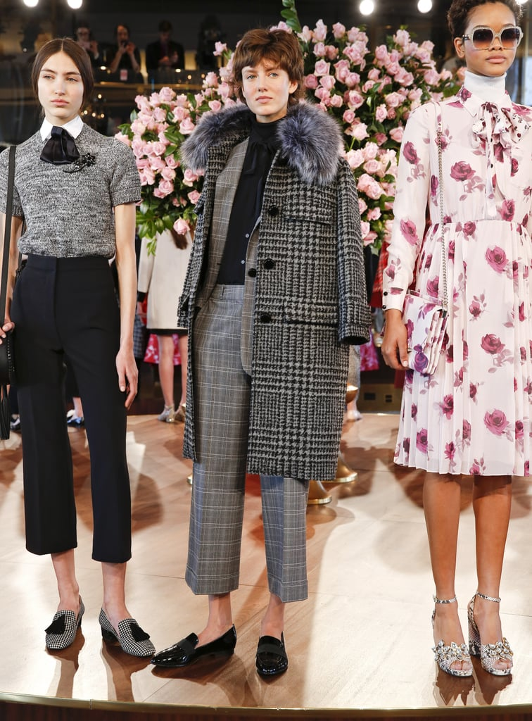 We Spotted Them at Kate Spade's Autumn '16 Presentation