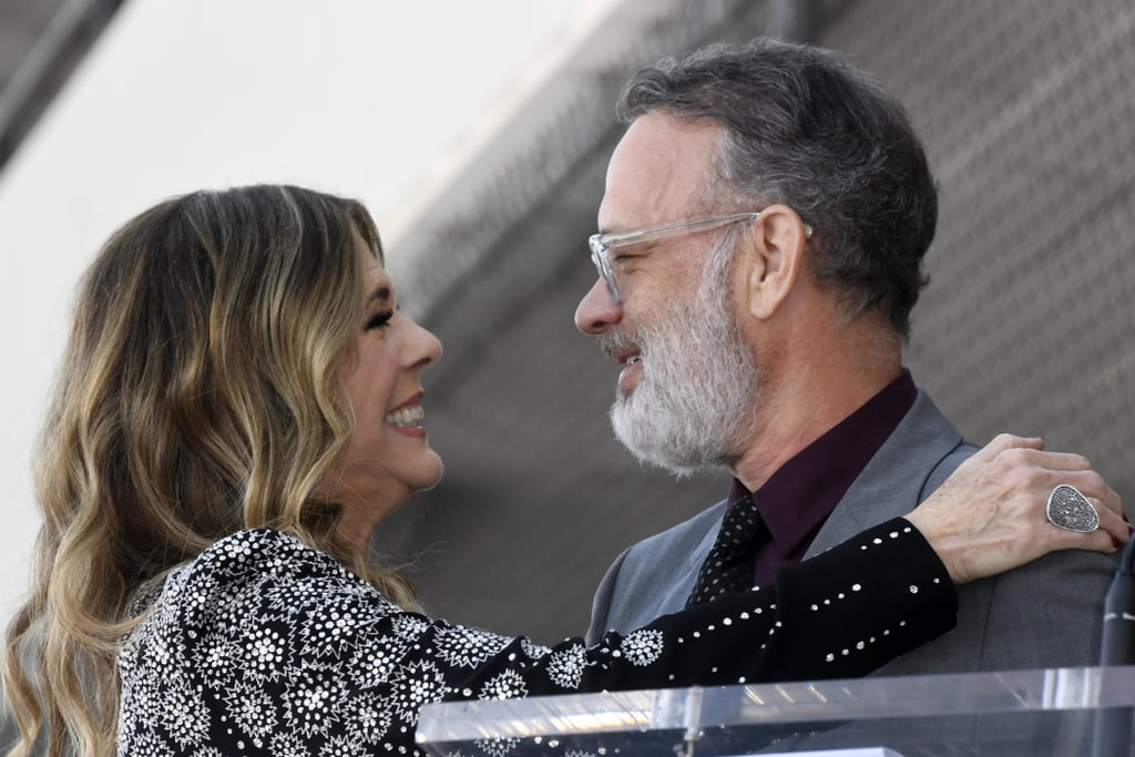 "Rita Wilson's legacy has officially been cemented with a Hollywood star! On Friday, the 62-year-old actress and singer was given the high honor at her very own Walk of Fame ceremony — the same day her new album Halfway to Home dropped. Rocking a black and silver dress, she accepted the accolade alongside her husband of over 30 years, Tom Hanks, as well as one of her good friends Julia Roberts (who looked gorgeous in an emerald green ensemble). The special occasion was a mini reunion for the three who costarred together in 2011's Larry Crowne. At the ceremony, Tom shared a few words about his wife in celebration of her achievement. ""Rita Wilson has pitch-perfect taste,"" he said during his speech. The woman of the hour then interjected, saying, ""Well, I chose you."" The two also shared a warm embrace before flashing smiles at the cameras. View more pictures of Rita, Tom, and Julia at the event ahead!      Related:                                                                                                           57 Pictures That'll Make You Appreciate Tom Hanks and Rita Wilson's 3-Decades-Long Relationship"