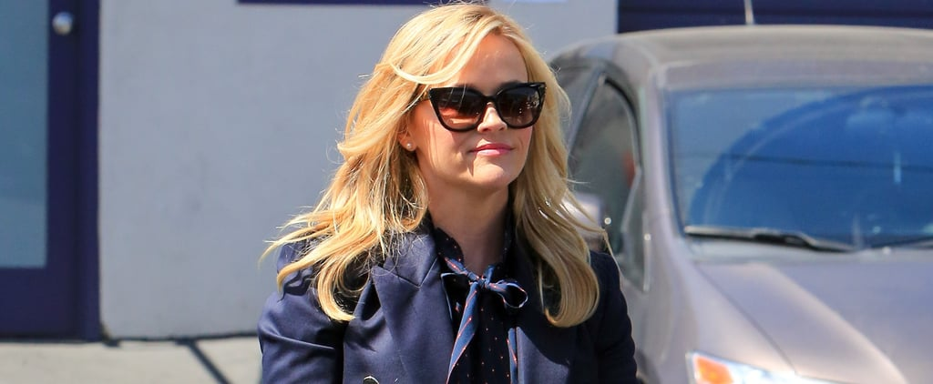 Reese Witherspoon Scalloped Jeans
