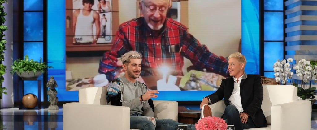 Zac Efron on The Ellen DeGeneres Show Video 2019