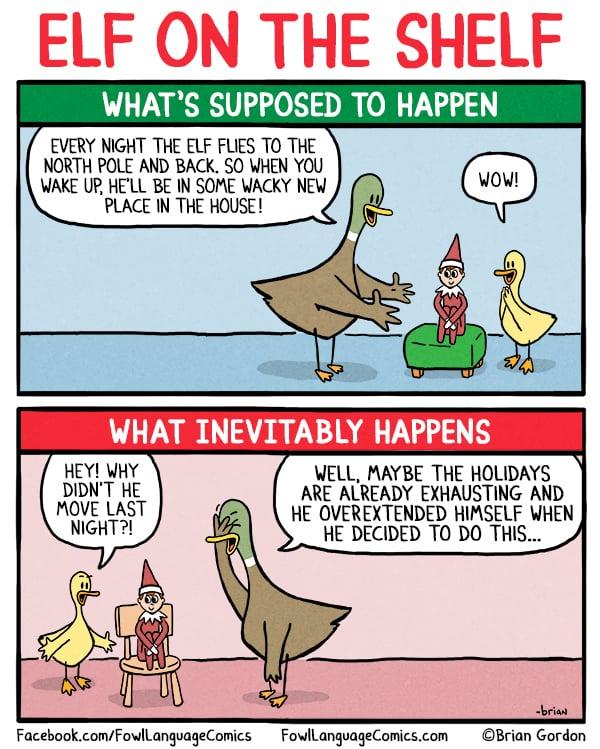 Brian Gordon S Fowl Language Holiday Parenting Comics