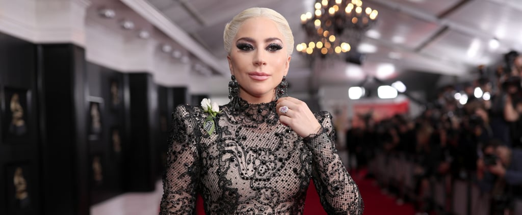 Lady Gaga's Engagement Ring at 2018 Grammys