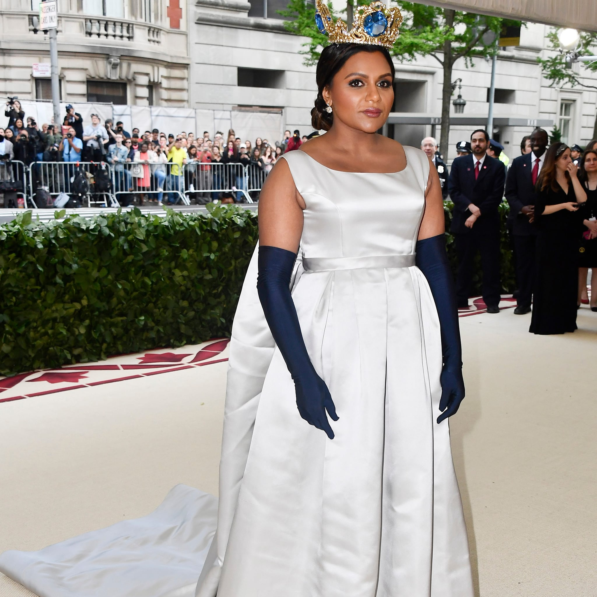 Mindy Kaling Met Gala Dress 2018 Popsugar Fashion Middle East