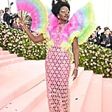 When She Shut Down the Met Gala With a Show-Stopping Rainbow Ensemble