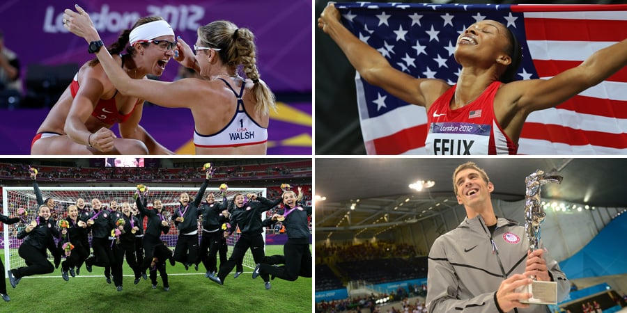 The Gold Standard: Team USA's Greatest 2012 Olympic Moments