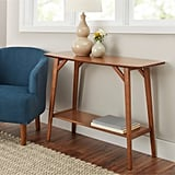 Better Homes and Gardens Reed Mid Century Modern Console Table