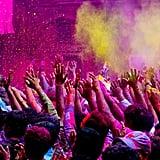 Participate in a Holi Festival