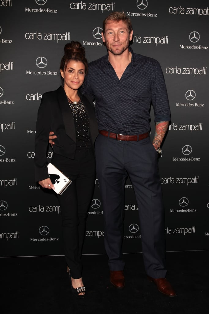Paula Abdul and Aaron Cash at MBFWA Day One
