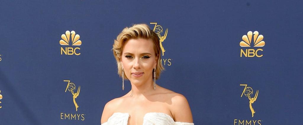Scarlett Johansson's Blond Hair at 2018 Emmys