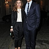 Olivia Palermo and Johannes Huebl at Hogan by Karl Lagerfeld