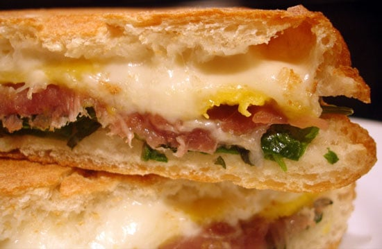 Step-by-Step Photos of Prosciutto Mango Panini Recipe