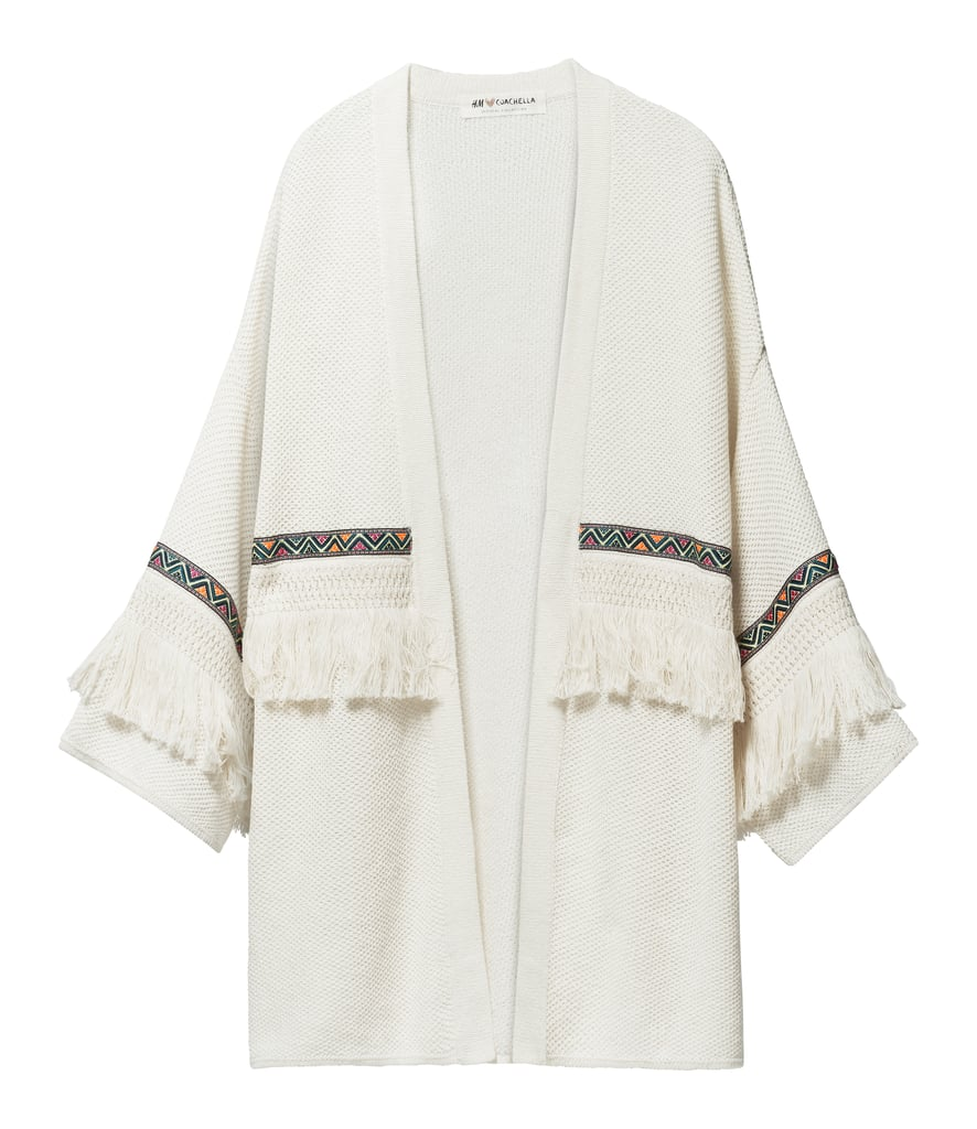 H&M LOVES COACHELLA Cardigan With Fringe ($30)
