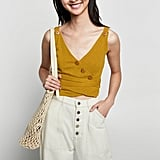 Textured Top With Buttons ($29.95)