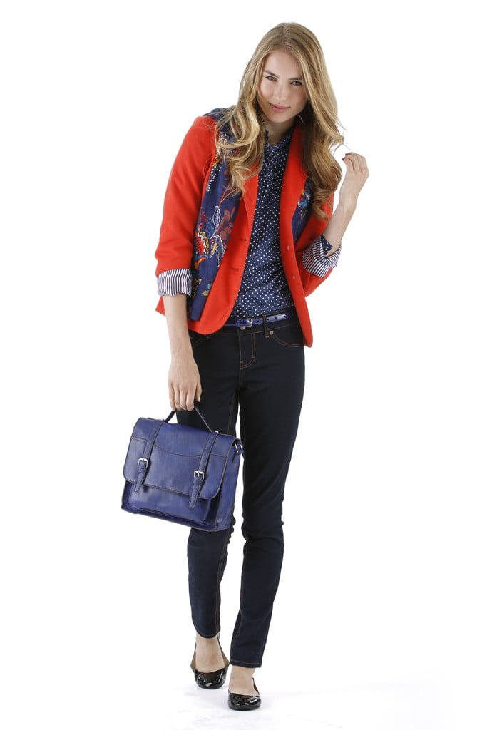 Target Styles Up Its Fall 2012 Looks With Mixed Prints and Schoolgirl Cool