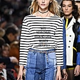 Dior Debuted New Messages on Its Shirts For Spring '18