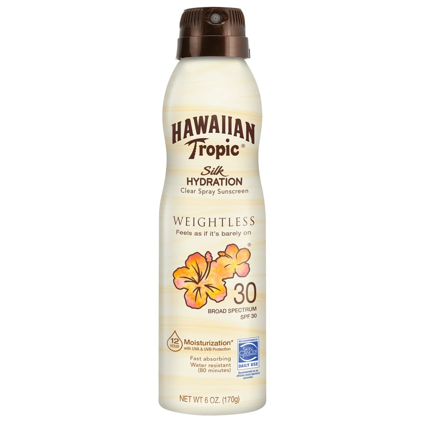 Hawaiian Tropic Silk Hydration Weightless Clear Sunscreen Spray