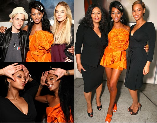 Photos of Beyonce Knowles, Samantha Ronson, Lindsay Lohan at Solange Knowles' Birthday Party