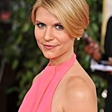 Her vaguely vintage updo made us do a double take at the 2011 Golden Globe Awards.