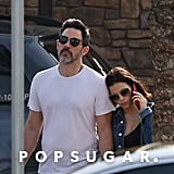 Jenna Dewan and Steve Kazee Holding Hands in California