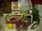 Butternut Squash, Pomegranate, and Walnut Salad