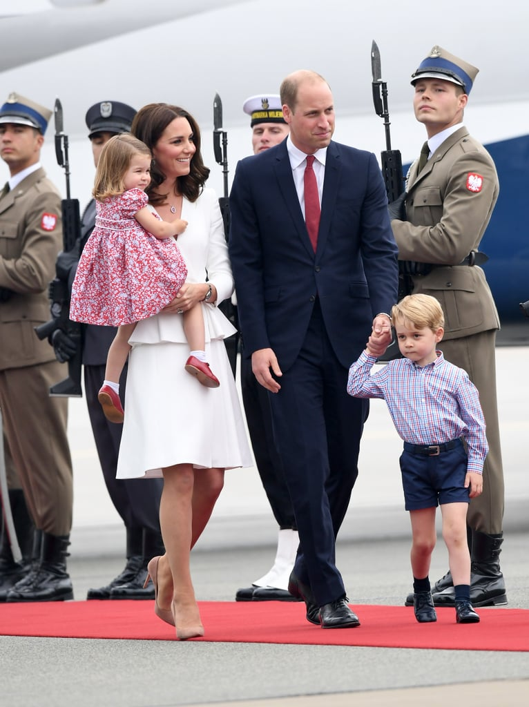They Brought Along George and Charlotte For Their Royal Tour