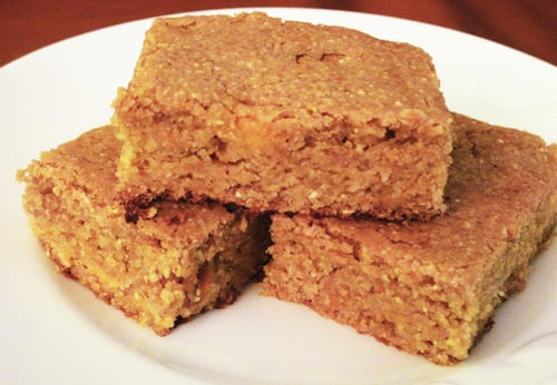 Vegan Sweet Potato Corn Bread