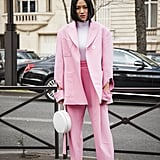 Stand Out in a Barbie Pink Suit