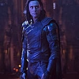 Loki (Tom Hiddleston) looking troubled . . . as usual.